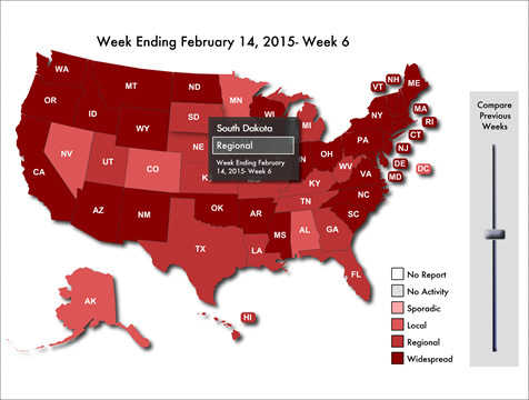 [Medipix Productions, Inc. Flu Map]